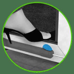Dettelin No-Touch T/ür/öffner Closer T/ür/öffner Stylus Closer Tool Griff/öffnungsschlaufe Haken Hand Stick H/ände sauber halten Mehrzweckschutz